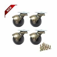 """Anyke 1.5"""" Ball Caster Small Caster Wheels for Sofa Furniture,Bench & Ottoman..."""