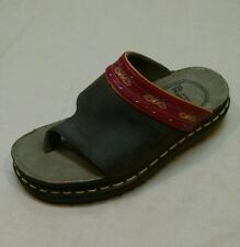 Dr Martens Women's brown leather thong sandals, size US 6 Eu 38, 9507 flip flops