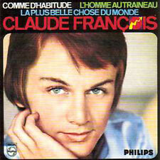 CD Single Claude FrançoisComme d'habitude Strictly Ltd numbered edition CARD SL