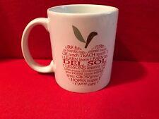 Personalization Mall Mug Teacher Apple Themed Cup Las Vegas Del Sol High School