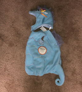 NWT Pottery Barn Kids Baby Sea Horse Costume Toddler size 2T-3T