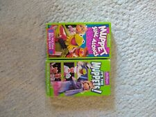 MuppetsSing Alongs and Its the Muppets, More Muppets Please VHS Tapes _FREE SHIP