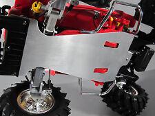 Aluminum Bottom Chassis Plate + side rail Blackfoot Monster Beetle Mud Blaster