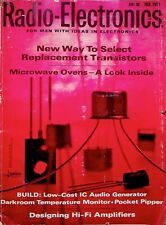 NEW WAY TO SELECT REPLACEMENT TRANSMITTER'S - Radio - Electronics Magazine 1971
