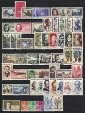 1957  ANNEE COMPLETE ** du # 1091 au # 1141 / COTE 110.00 € (ref 842)