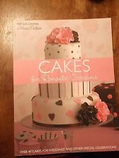 Cakes for Romantic Occasions By May Clee-CadmanOf Maisie Fantaisie  NEW