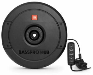 """JBL BassPro Hub 200 RMS 11"""" Universal Powered Spare Tire Well Car Subwoofer"""