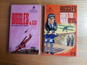 Captain W. E. Johns Five Biggles Stories Published By Armada Bundle x5 Books