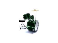 DAM JB J1043 Verde Batteria acustica Junior per bambini 3 pezzi