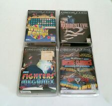 4 NEW Tiger Game.com Games Resident Evil 2, Fighters Megamix, WOF & Arcades