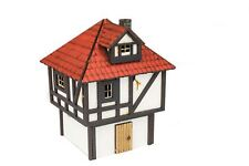WWGMedieval Town Small Town House – 28mm Fantasy Wargame Terrain Model Diorama