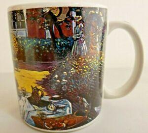 Claude Monet Mug Coffee/Tea Signed Unbranded 12 Oz