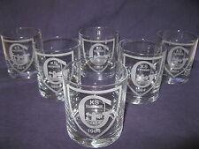 GKS KATOWICE -szklanki do whisky i nie tylko     6 SZT.