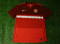 af575fba3 MANCHESTER UNITED ENGLAND 2011 2012 FOOTBALL SHIRT JERSEY TRAINING NIKE  ORIGINAL