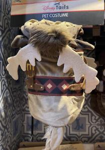 2021 Disney Parks Tails Sven Frozen Dog Cat Pet Costume Size M