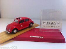 Solido (Ets Bellard) - Volkswagen Coccinelle Beetle Pompiers (1/43) - Rare