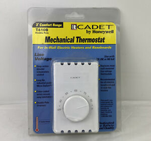 Cadet by Honeywell Mechanical Double Pole Thermostat T410B