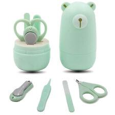 Baby Manicure Kit Infant Nail Clipper Set File Scissors Newborn Nail Care Kit