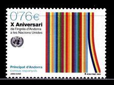 ANDORRA ESPAÑOLA 2003 308 Aniv. Andorra en la ONU 1v.