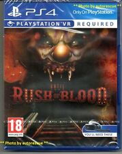UNTIL DAWN RUSH OF BLOOD  {PS VR REQUIRED} 'New & Sealed'  *PS4(Four)*