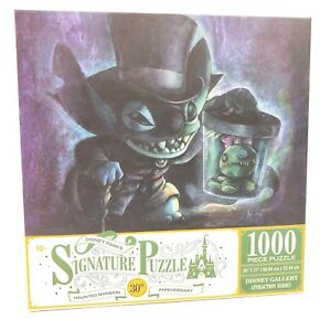 *NEW Stitch Hatbox Ghost Haunted Mansion Puzzle 1000 Pieces Disney Parks