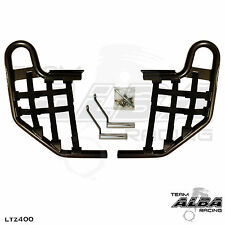 LTZ 400 LTZ400 Suzuki  Nerf Bars  Alba Racing   Black bar Black net  206 T1 BB
