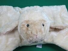 BIG GUND COMFY COZY BLANKY LOVEY SHEEP LAMB BABY SECURITY BLANKET PLUSH STUFFED