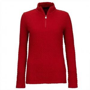 NWT Golfino Ladies MARCELLA TROYER STRETCH 5338926 369 Red Sz 4 14 NEW