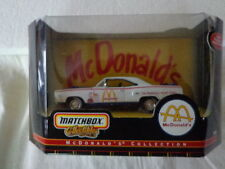 MATCHBOX 1970 PLYMOUTH ROAD RUNNER McDonald's  DIE CAST