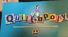 QUILTOPOLY Family Board Game - Quilting Sewing Monopoly DMC  NIB Family Fun