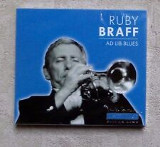 "CD AUDIO MUSIQUE / RUBY BRAFF ""AD LIBUES"" 10T CD ALBUM 2002 JAZZ NEUF SEALED"