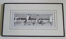 """Edward Gorey Limited Edition Print """"The Swimming Party"""" 1983"""