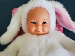 Vintage Anne Geddes Baby Bunnies New In Box Plush 1997