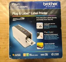 NEW Brother P-Touch PT-2430PC Label Thermal Printer