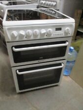 Hotpoint Electric Cooker 600 Double Oven C367EWH White