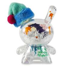"JEC HOLIDAY FIESTA 3"" DUNNY CLEAR DESIGNER VINYL MINI FIGURE BY KIDROBOT"