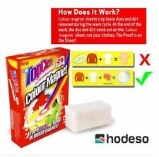 Hodeso TopClean Colour Magnet Dye Trapping Sheets (20 sheets)