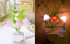 LED Light Control Dream Mushroom Romantic water plants led Stair night light