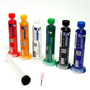 MECHANIC UV Curable Solder Mask Soldering PCB Repair Paint 10cc & Plunger