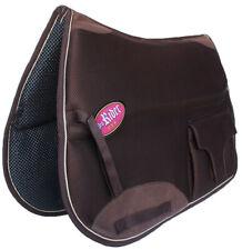 Horse English Endurance Non-Slip Neoprene Dressage Saddle Pad w/ Pockets 6401Br
