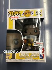 Funko POP LA Lakers LeBron James Footlocker Exclusive In hand read to ship #52