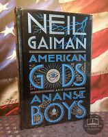 NEW SEALED Neil Gaiman American Gods / Anansi Boys Bonded Leather Edition