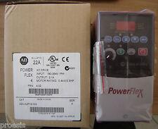 AB ALLEN BRADLEY ROCKWELL 22A-A2P1N103 powerflex inverter drive 0,4KW 0,5HP 1PH