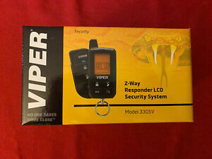 Directed Viper 3305V 2-Way Security System LCD Keyless Entry