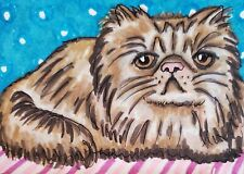 Persian Pout 8 x 10 Cat Art Giclee Print Signed by Artist Kimberly Helgeson Sams