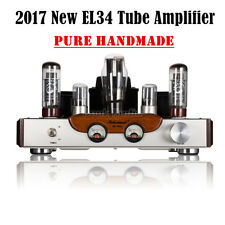 Nobsound Stereo Class A EL34 Tube Integrated Amplifier HiFi Power Amp
