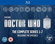 Doctor Who The Complete Box Set - Series 1-7 [Blu-ray]