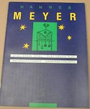 Pipe Organ Hannes Meyer Volume 2 Organ scores Christmas Concerto