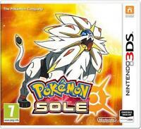 POKEMON SOLE PER NINTENDO 3DS NUOVO SIGILLATO ORIGINALE E IN ITALIANO!!!