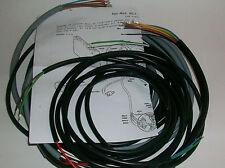 IMPIANTO ELETTRICO ELECTRICAL WIRING  APE AC2 AVVIAMENTO A MANO+SCHEMA ELETTRICO